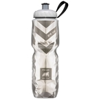 Polar Bottles Insulated Water Bottle: 24oz, Chevron Black