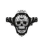 All Mountain Style Mud Guard, Skull