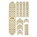 All Mountain Style Honeycomb Frame Guard XL, Gold/Couture