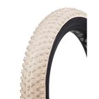"Vee Tire Co Snow Avalanche K Tire 26 x 4"" Studded Cream/Black"