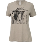Surly Gothic Women's T-Shirt: Stone