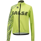 Salsa Team Women's Jacket: Yellow/Olive Green