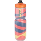 Salsa Insulated Purist Water Bottle: 23oz, Beargrease, Orange
