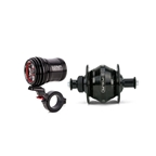 Exposure Lights Revo Pack Dynamo Light and Rim Brake Hub 28 Hole