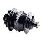 Exposure Lights Revo Dynamo Hub Black Disc Brake QR15 Hub