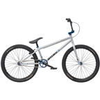 "We the People Atlas 24"" 2019 Complete BMX Bike 22"" Top Tube Bright Silver"