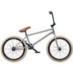 "We The People Battleship 20"" 2019 Complete BMX Bike 20.75"" Top Tube Freecoaster Left Side Drive Brushed Raw"