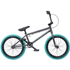 "We The People CRS 18"" 2019 Complete BMX Bike 18"" Top Tube Anthracite Gray"
