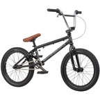"We The People CRS 18"" 2019 Complete BMX Bike 18"" Top Tube Matte Black"
