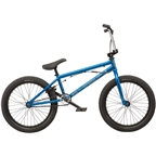 """We The People CRS FS 20"""" 2019 Complete BMX Bike 20.25"""" Top Tube Metallic Blue"""