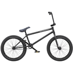 "We The People Crysis 20"" 2019 Complete BMX Bike 21"" Top Tube Matte Black"