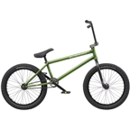 "We The People Crysis 20"" 2019 Complete BMX Bike 21"" Top Tube Translucent Olive"