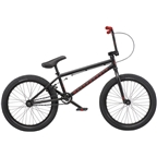 "We The People Nova 20"" 2019 Complete BMX Bike 20"" Top Tube Matte Black"