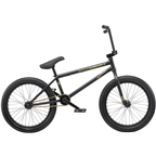 "We The People Reason 20"" 2019 Complete BMX Bike 20.75"" Top Tube Matte Black"