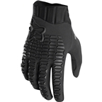 Fox Racing Sidewinder Men's Full Finger Glove: Black/Black