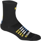Garneau Merino 30 Men's Sock: Blue/Black