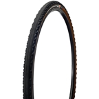 Challenge Gravel Grinder TLR Tire Tubeless Ready Folding Clincher 700 x 33 120tpi, Black/Brown