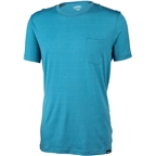 Surly Merino Pocket T-Shirt: Blue