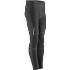 Garneau Solano 2 Men's Tights with Chamois: Black SM