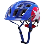 Kali Chakra Child Helmet: Star Blue/Red One Size