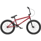"Radio Evol 20"" 2019 Complete BMX Bike 20.3"" Top Tube Metallic Red"