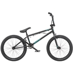 "Radio Dice 20"" 2019 FS Complete BMX Bike 20"" Top Tube Matte Black"