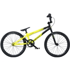"Radio Raceline Cobalt 20"" Expert Complete BMX Bike 19.5"" Top Tube Black/Yellow"