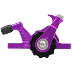 Paul Component Engineering Klamper Disc Caliper, Long Pull, Purple