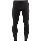 Craft Fuseknit Comfort Men's Base Layer Pants: Black