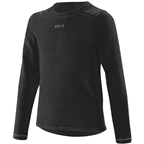 Garneau 4000 Thermal Crewneck Youth Base Layer Top: Gray/Black