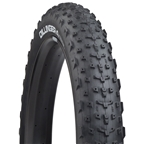 "45NRTH Dillinger 4 Custom Studdable Fat Bike Tire: 26 x 4"" Tubeless Ready Folding, 120tpi, Black"