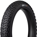 "45NRTH Dillinger 5 Studded Fat Bike Tire: 26 x 4.6"" 258 Concave Studs Tubeless Ready Folding, 120tpi, Black"