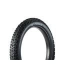 "45NRTH Dillinger 5 Studded Fat Bike Tire: 26 x 4.6"" 258 Steel Carbide Studs, Tubeless Ready Folding, 60tpi, Black"