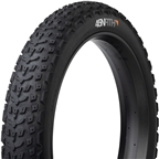 "45NRTH Dillinger 5 Custom Studdable Fat Bike Tire: 26 x 4.6"" Tubeless Ready Folding, 120tpi, Black"