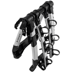 Kuat Highline Trunk Rack: 3 Bike Silver/Black