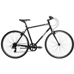Reid Urban-S Men's 7-Speed Steel City Bike Matte Black