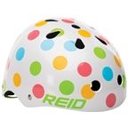 Reid Multi-Color Polka Dot Helmet 54-58c