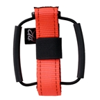 Backcountry Research Gristle Strap Fat Tube Saddle Mount - Blaze Orange