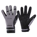 Proviz Reflect360 Waterproof Cycling Gloves - Black/Gray
