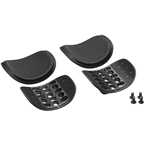 Profile Design Ergo Injected Armrest Kit: Black