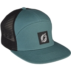 Salsa Pepper Globe Snapback Cap: Green/Black One Size