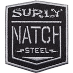Surly Natch Patch: Black/Silver