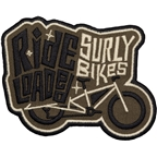 Surly Long Tail Loaded Patch: Brown/Black