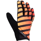 Salsa Handup Devour Full Finger Gloves: Red/Yellow Fade