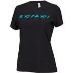 Salsa Downtube Women's T-Shirt: Gray/Teal