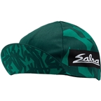 Salsa Mild Kit Cycling Cap: Green One Size