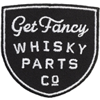Whisky Get Fancy Patch: Black/White