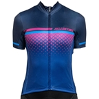 Bellwether Gradient Women's Cycling Jersey: Navy