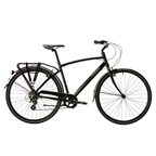 Opus Classico 1 Stealth Black City Bike
