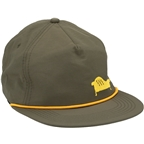 Salsa Gravel Lounge Snapback Cap: Green One Size